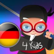 Professor Ninja German 为儿童 1
