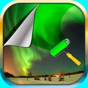 是北极光壁纸 – 美丽的北极光图片和主题背景 1