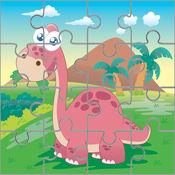 恐龙拼图教育:侏罗纪公园儿童学习游戏