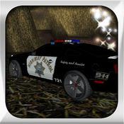 游戏 - 警车赛车...