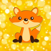动物园动物图画书为孩子和家庭免费学前教育的学习游戏 1