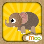 动物园的野生动物 - 儿童益智游戏 , 动物叫声, 图画书, 拼