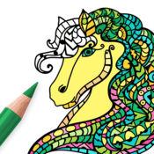 马著色本 - 成人著色本 1