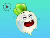 甜菜动画贴纸 1