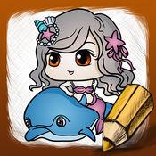 如何画美人鱼 1
