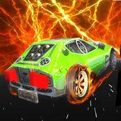 热的特技车轮 - (怪物卡车驾驶和赛车游戏 1.5
