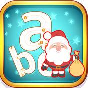 圣诞老人ABC字母表比较小的跟踪学习 1