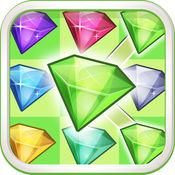 宝石粉碎传奇流行 - 连接宝石免费游戏 1