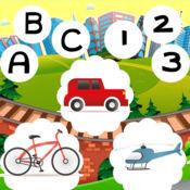 123和美国广播公司驾驶学校为幼儿和婴儿!了解游戏的乐趣和