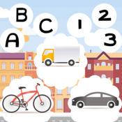 123和美国广播公司驾驶学校免费应用程序对于儿童:更多的游