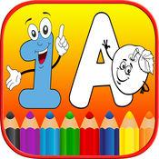 123 ABC字母儿童图画书免费 - 拼音 1.0.0