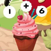123 活跃! 游戏,学习如何添加 与cookies儿童 1