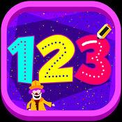 123跟踪 - 学习与互动活动和困惑计数和跟踪号码 1