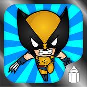 如何绘制超级英雄版 1