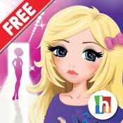 魅力女孩 - T恤设计师免费版 2