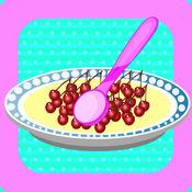 香草冰淇淋:美味餐厅 美卷 美食 儿童开发智力游戏 休闲家