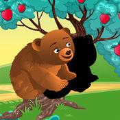 活动! 影游戏为孩子们学习和森林动物打 1