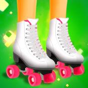 女孩溜冰者 - 这个女孩只有溜冰免费游戏 3