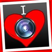 I Love - 照片应用程序:相框和照片编辑,分享您的图片 1