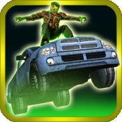 3D赢得尊重邪恶僵尸模具 - 转到怪物汽车公路和模拟器驾驶