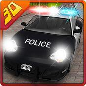 3D警方赛车特技 - 疯狂的模拟驾驶和模拟冒险 1