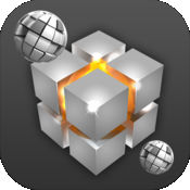 3D革命狂潮 - 立方体和球体向下秋季 1