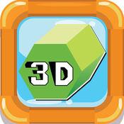 3D形状抽认卡:英语词汇学习免费为幼儿和孩子们! 1