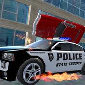 4x4疯狂警车赛和城市犯罪 1