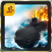 真棒潜艇战斗舰免费! - 多人鱼雷战争 1