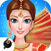 印度女孩改头换面 - 时尚风格装扮游戏 1