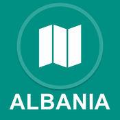 阿尔巴尼亚 : 离线GPS导航 1