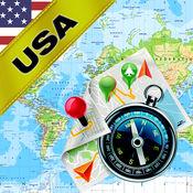 美国 (US) -离线地图和GPS导航仪 1.8