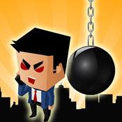 攻击愤怒的老板 : 邪恶的办公破坏球的复仇游戏
