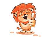 狮 貼紙 1