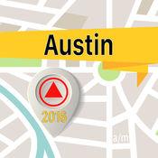 奧斯汀 离线地图导航和指南 1