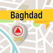 Baghdad 离线地图导航和指南 1