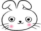 Round Face Rabbit贴纸,设计:wenpei 2.0.1