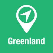 大指南 格陵兰 地图+旅游指南和离线语音导航 1