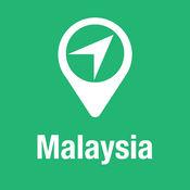 大指南 马来西亚 地图+旅游指南和离线语音导航 1