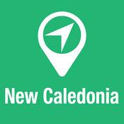 大指南 新喀里多尼亚 地图+旅游指南和离线语音导航 1