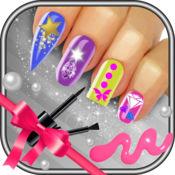 花式美甲沙龙 - 设计艺术指甲美容化妆游戏的女孩 1