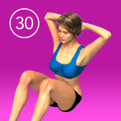 女子Situp 30天挑战 1