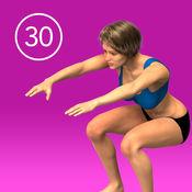 女子蹲30天挑战 1