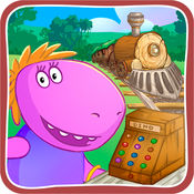 婴儿恐龙铁路收银员