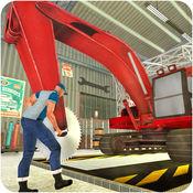 挖掘机、 起重机机械 — — 维修车库站 1