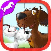 小狗拼图免费 - 幼儿及儿童游戏 1