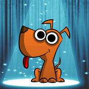 小狗 拖動 線 比賽 3 - 狗 難題 遊戲 對於 孩子們 1