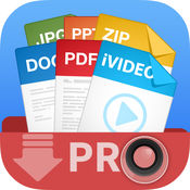 视频下载,视频播放器+文档管理器 Video Downloader, Video Player + Document Manager Pro