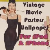 复古电影的iPad,iPod和iPhone的海报壁纸 1
