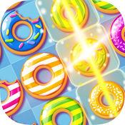 甜甜圈粉碎流行乐坛传奇人物 — — 使好玩的好吃的和匹配